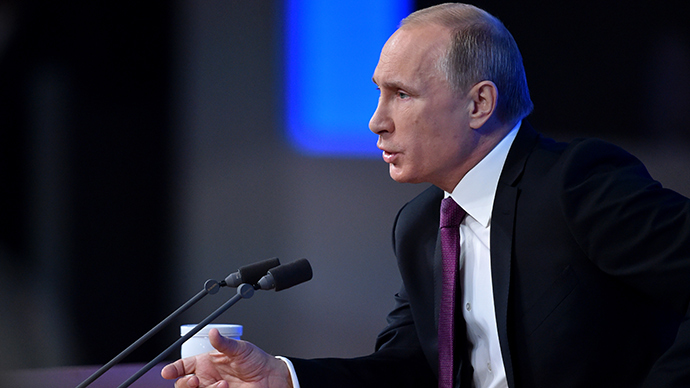 Western nations want to chain 'the Russian bear' - Putin