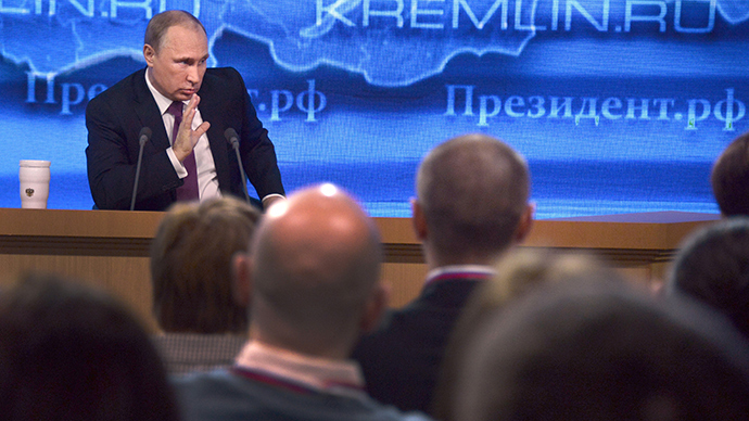 Speculation in financial markets not a crime, Putin says