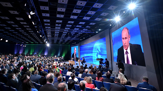 Russia not attacking west, just defending its interests - Putin