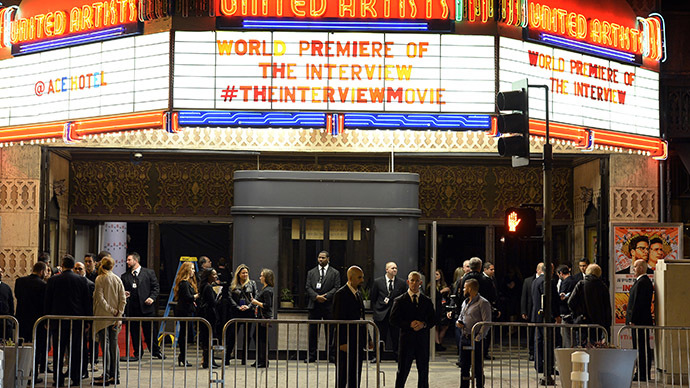 Hollywood slams Sony for cancelling The Interview after hackers' threats