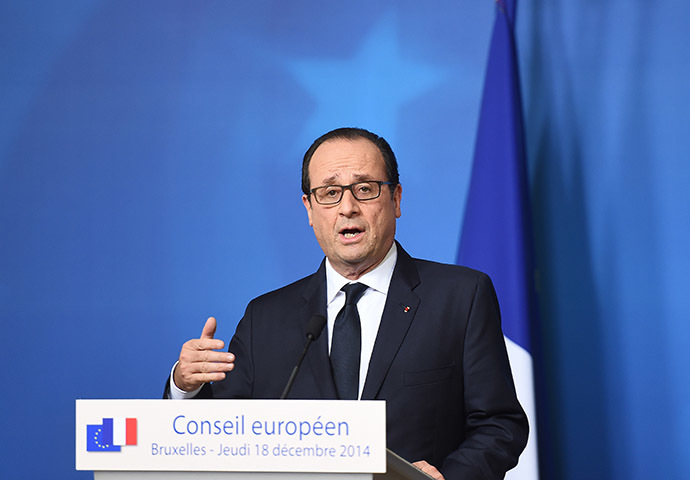 French President Francois Hollande (AFP Photo/Emmanuel Dunand)