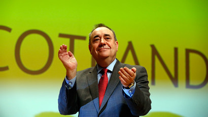 Peasants' revolt! Salmond calls for 'constitutional revolution' in England