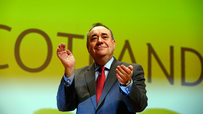 Rising SNP could back a minority Labour government in 2015 – Salmond