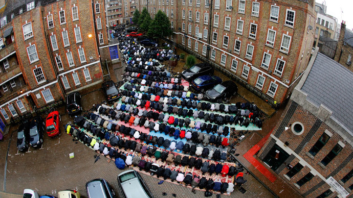 Mosque in east London.(Reuters / Chris Helgren)