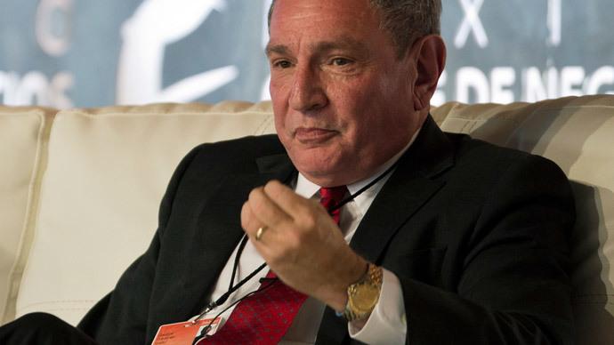 Stratfor Global Intelligence CEO George Friedman.(AFP Photo / Ronaldo Schemidt)