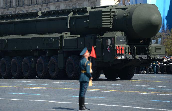 Topol-M missile launcher (RIA Novosti/Vladimir Astapkovich)