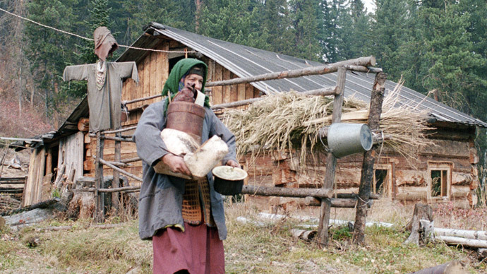 Foxy lady: 70yo Russian Old Believer's only fear is hungry Siberian predator