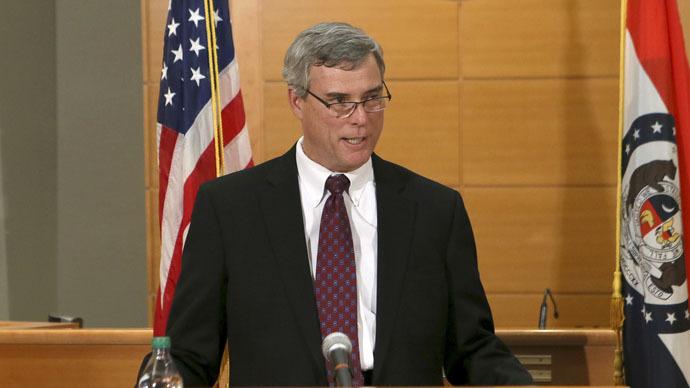 Ferguson prosecutor says witnesses lied under oath to grand jury