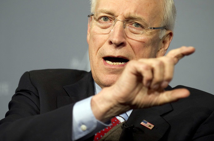 Former US Vice President Dick Cheney (AFP Photo/Jim Watson)