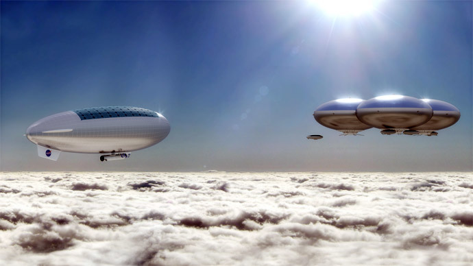 Cloud castles: NASA wants to deploy manned solar-powered airships to Venus
