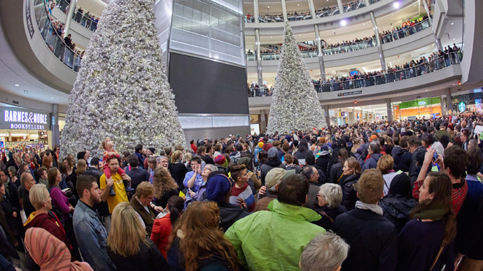 ​Anti-police brutality rally paralyzes Mall of America (PHOTOS, VIDEO)