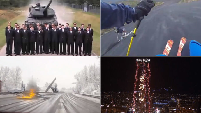 2014 as we saw it: Top 10 fun (and crazy) videos of the year