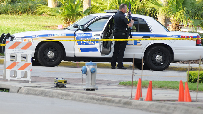 Police officer shot to death in Florida