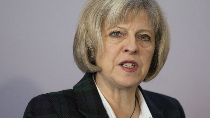Britain's Home Secretary Theresa May (Reuters / Daniel Leal-Olivas / pool)