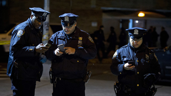 Kevlar & caution: US police on high alert following cop killings