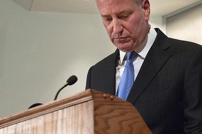 New York Mayor Bill de Blasio (Reuters/Stephanie Keith)