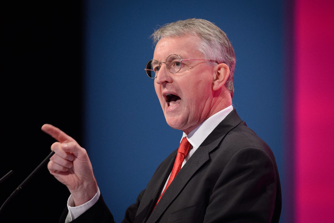 Hilary Benn (AFP Photo/Leon Neal)