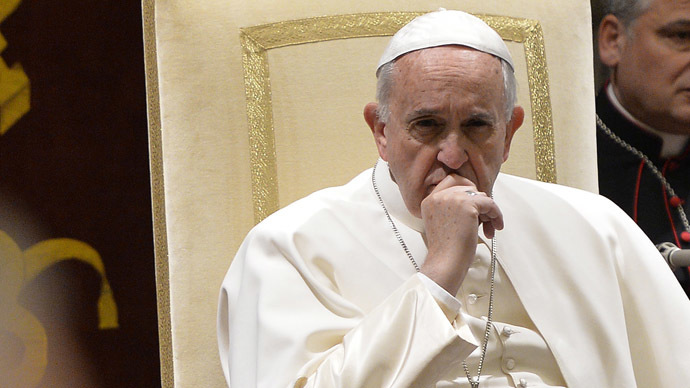 Pope blasts Vatican bureaucrats for 'spiritual Alzheimer's', lists their 15 sins