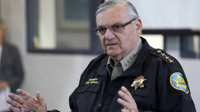 Controversial Arizona sheriff to challenge Obama immigration order in court