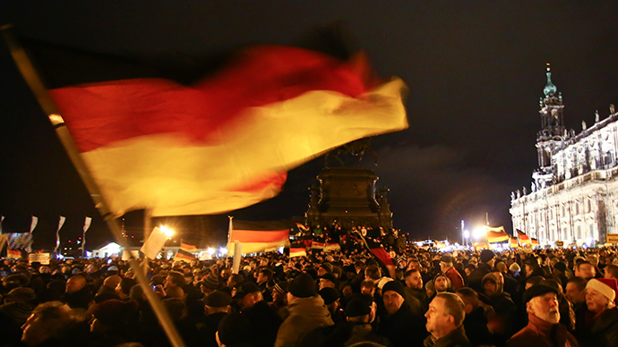 Rise of far-right: Thousands rally at anti-Islam protest in Germany