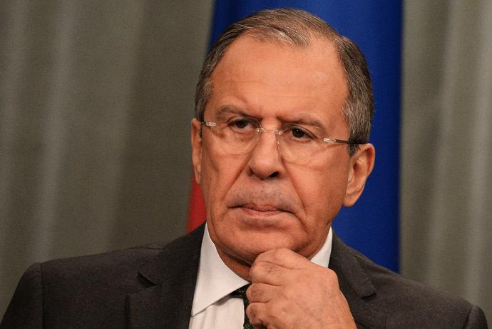 Russian Minister of Foreign Affairs Sergey Lavrov. (RIA Novosti/Alexey Filippov)