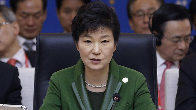 South Korea's President Park Geun-hye (AFP Photo/Ahn Young-joon)