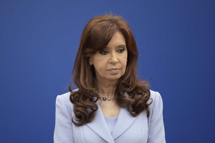 Argentina's President Cristina Fernandez (AFP Photo/Juan Mabromata)