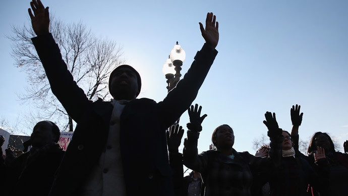 ACLU sues after school gives Ferguson protester detention