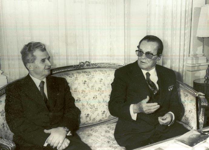 Nicolae Ceausescu and Josip Broz Tito (iiccr.ro/#BA578)