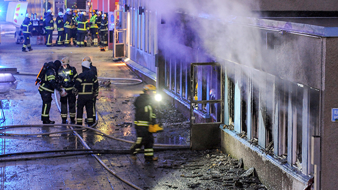5 injured in Christmas Day arson attack on Swedish mosque (PHOTOS, VIDEO)