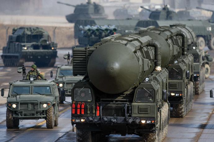 Topol-M ground missile complex launcher (RIA Novosti/Ramil Sitdikov)