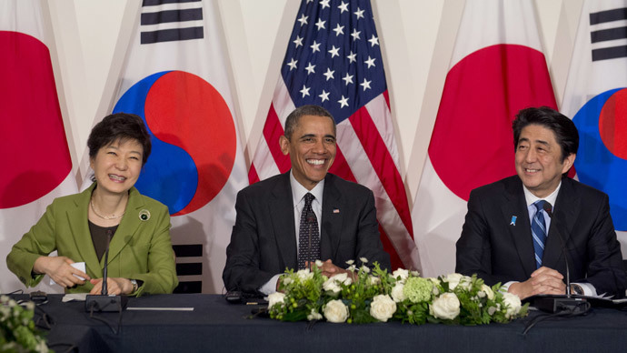 US, Japan and S.Korea to share intel on N. Korea