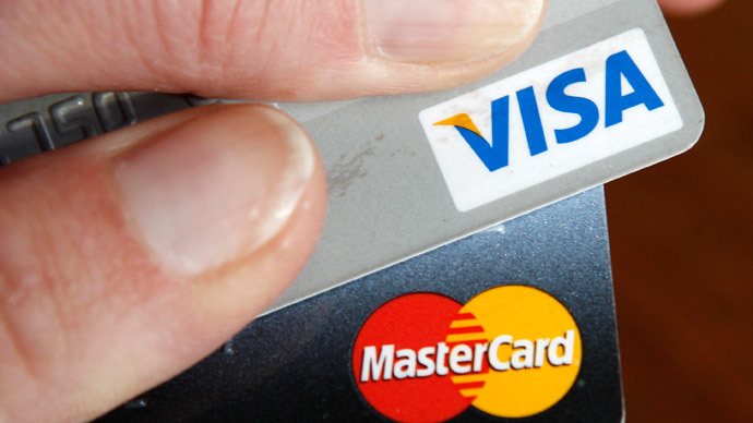 Sanctioned: Visa, MasterCard suspend servicing Russian banks in Crimea