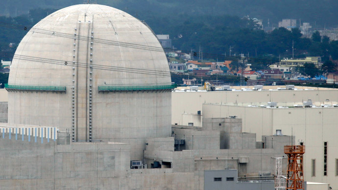 The new Shin Kori No. 3 reactor of state-run utility Korea Electric Power Corp (KEPCO) is seen in Ulsan, about 410 km (255 miles) southeast of Seoul. (Reuters / Lee Jae-Won )
