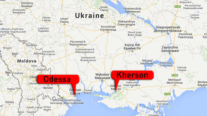 Southern Ukraine Blasts in Kherson Odessa RT World News