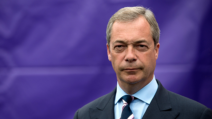 UKIP's Nigel Farage voted 'Briton of the Year'