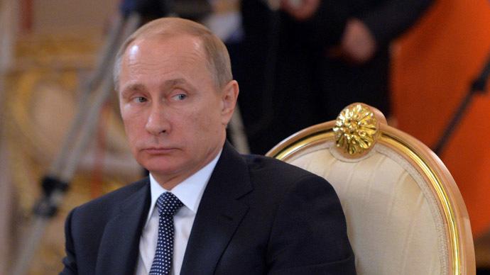 President Vladimir Putin (RIA Novosti/Alexei Druzhinin)