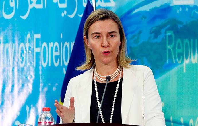 European Union Foreign Policy Chief Federica Mogherini (Reuters / Ali Al-Saadi)