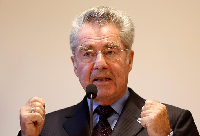 Austrian President Heinz Fischer (Reuters / Dado Ruvic)