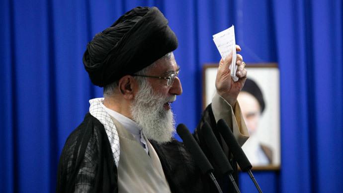 Iran's Supreme Leader Ayatollah Ali Khamenei.(Reuters / Morteza Nikoubazl)