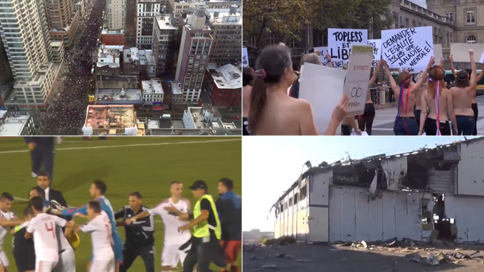 2014 as we saw it: Top 10 NEWS videos of the year