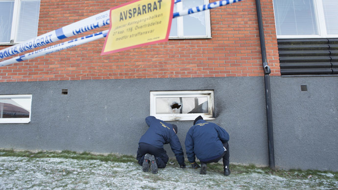 Suspected arson in Swedish mosque, second in days