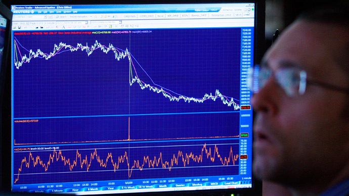 Russian GDP hit as manufacturing slumps