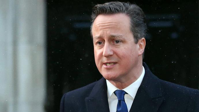 British Prime Minister David Cameron (AFP Photo/Paul Faith)