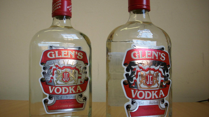Deadly fake vodka hits shelves ahead of New Year's Eve