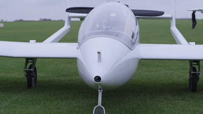 Plane with hybrid-electric engine takes to skies in test flight (VIDEO)