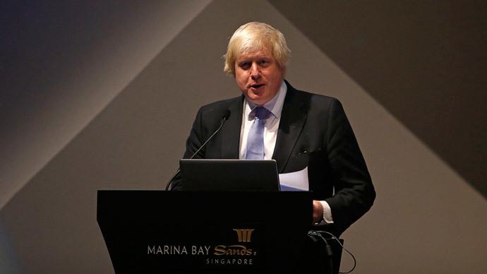 Mayor of London, Boris Johnson.(Reuters / Edgar Su)