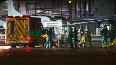 Ebola scare: Health worker taken to London clinic after virus confirmed