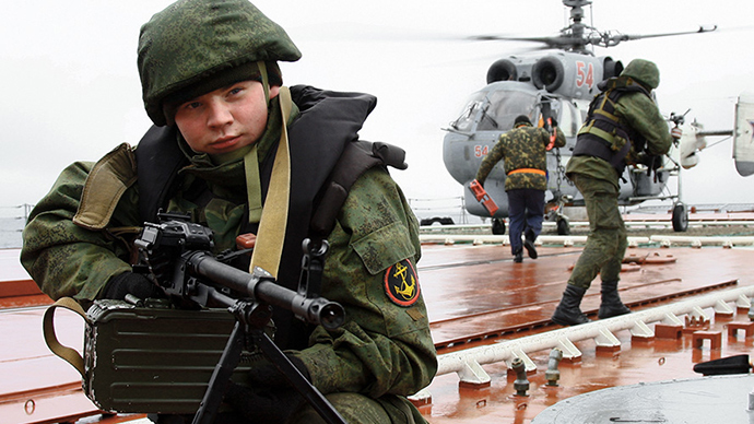 Russia's Arctic troops to be beefed up with Northern Fleet in 2015