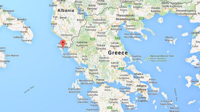 Vessel with hundreds onboard near Greece sends SOS, warns guns aboard